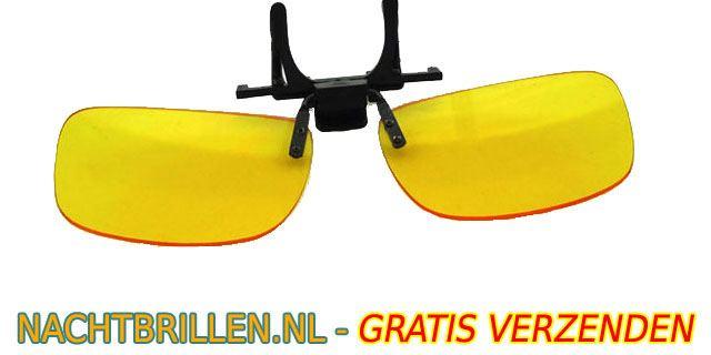 Gepolariseerde Glazen Nachtbril clipon